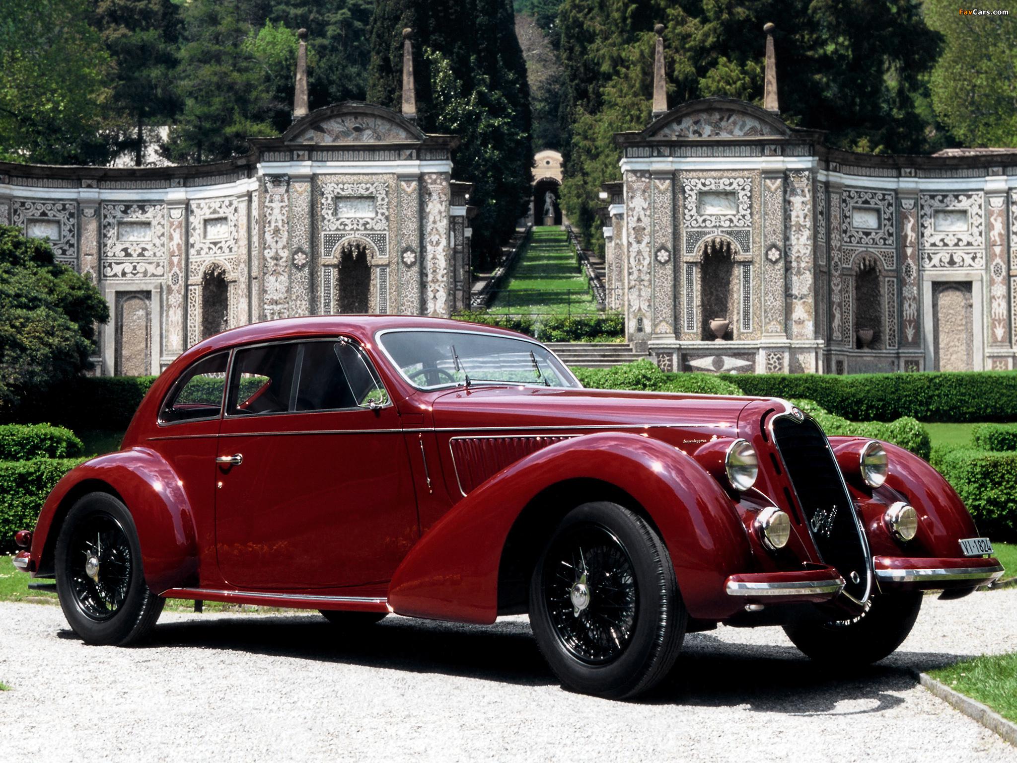 Alfa Romeo 6C 2300B Mille Miglia (1938–1939) images (2048 x 1536)