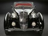 Alfa Romeo 6C 2300 Worblaufen Cabriolet (1938) photos