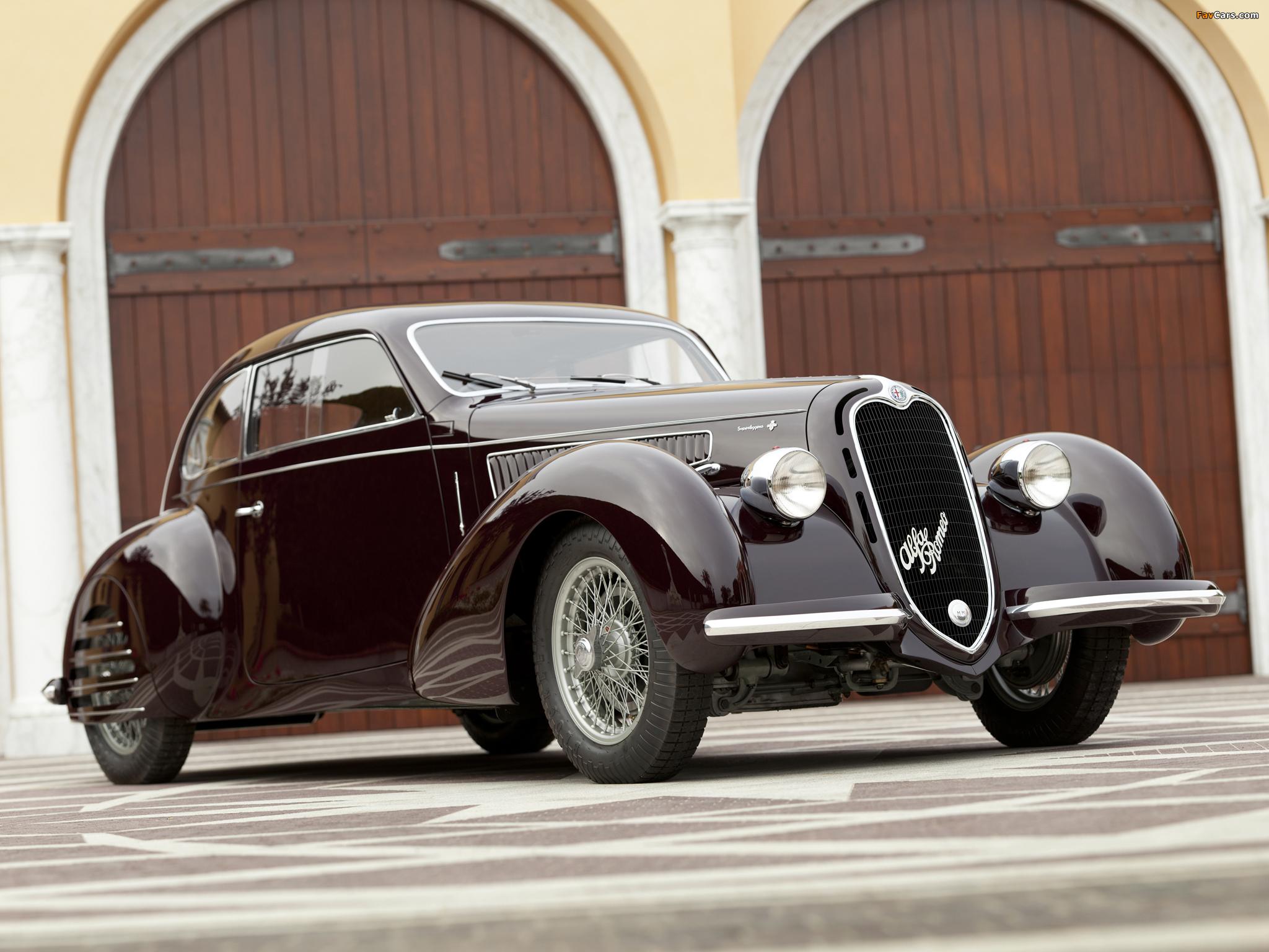 Alfa Romeo 6C 2300B Mille Miglia (1938–1939) pictures (2048 x 1536)