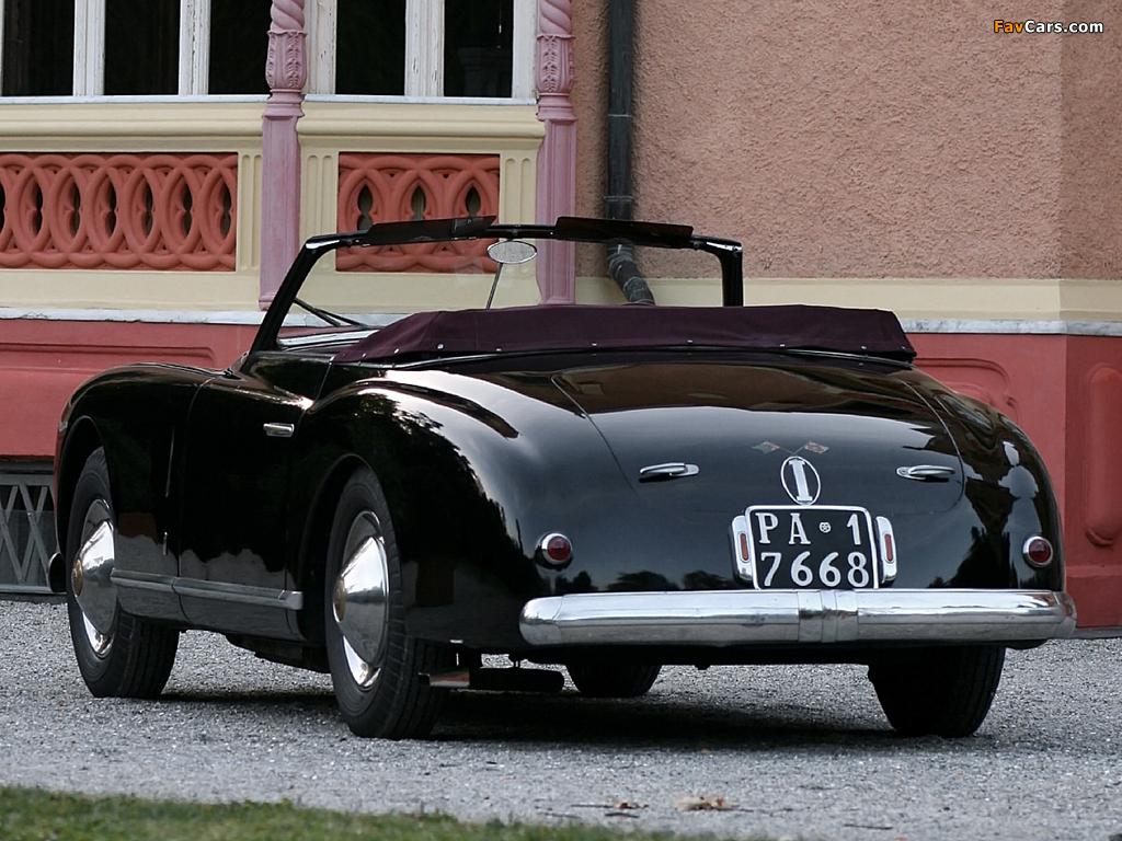 Alfa Romeo 6C 2500 SS Cabriolet (1947–1951) photos (1024 x 768)