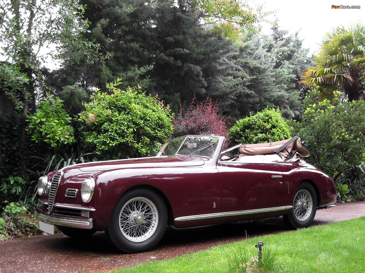 Alfa Romeo 6C 2500 Sport Cabriolet (1948–1951) photos (1280 x 960)