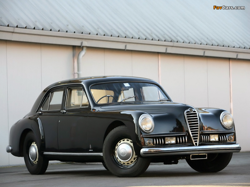 alfa romeo 6c 2500 limousine ministeriale 1951 wallpapers 800x600. Black Bedroom Furniture Sets. Home Design Ideas
