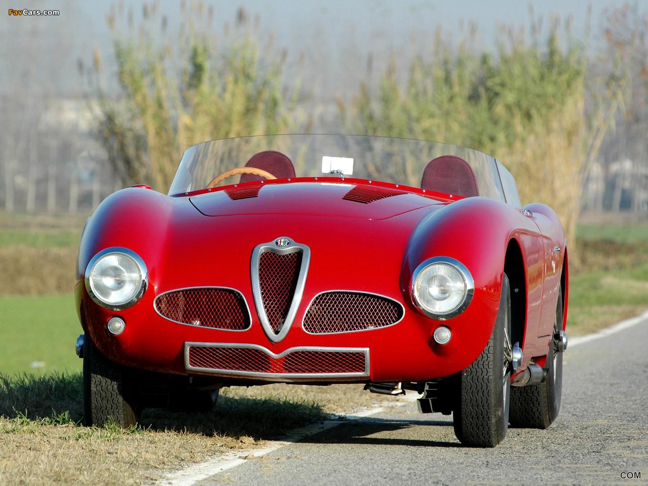 Alfa Romeo 6C 3000 Spider 1361 (1952) images (1280 x 960)