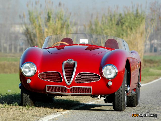 Alfa Romeo 6C 3000 Spider 1361 (1952) images (640 x 480)