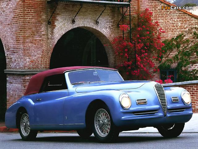 Images of Alfa Romeo 6C 2500 Sport Cabriolet (1948–1951) (640 x 480)