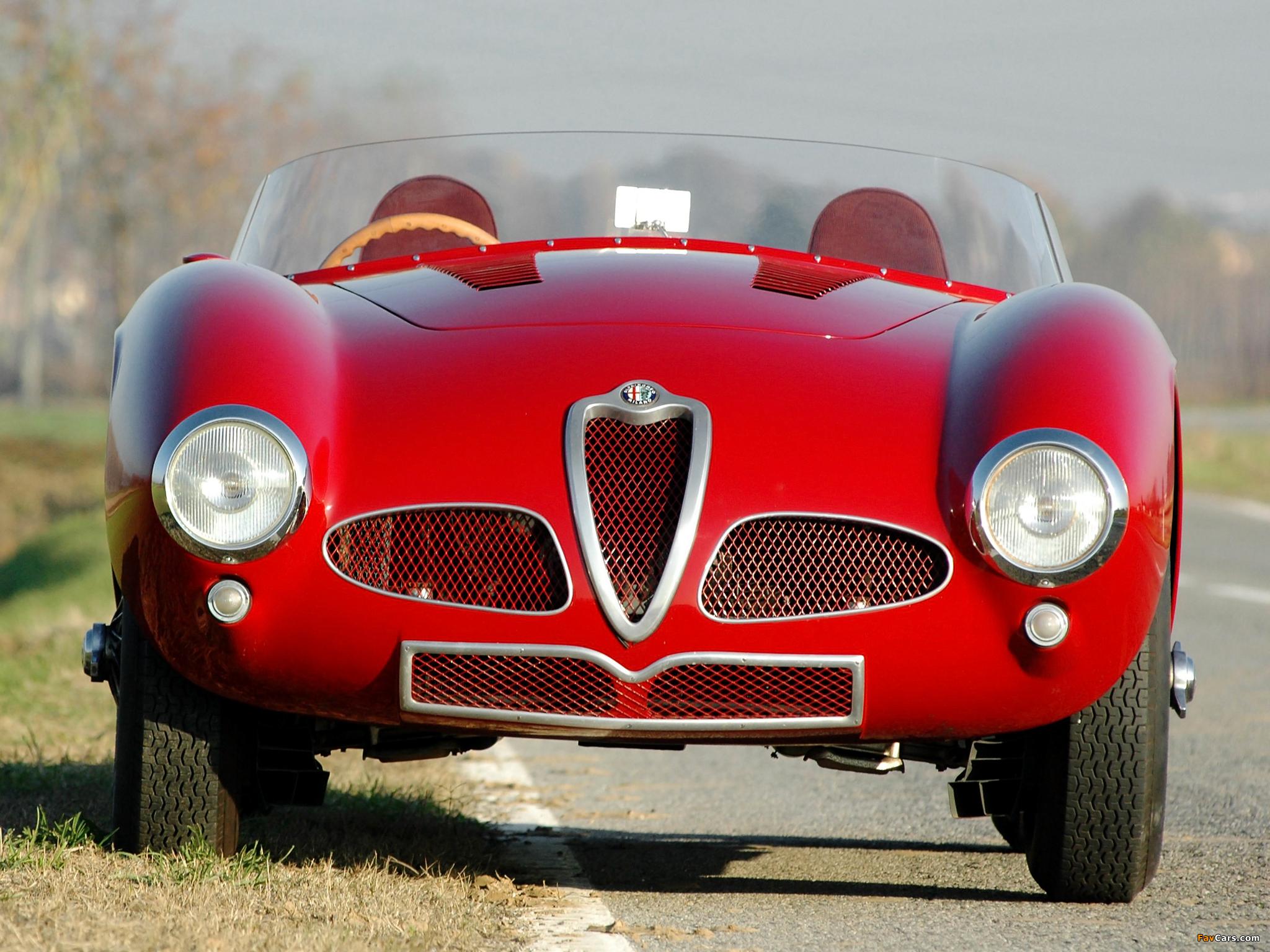 Images of Alfa Romeo 6C 3000 Spider 1361 (1952) (2048 x 1536)