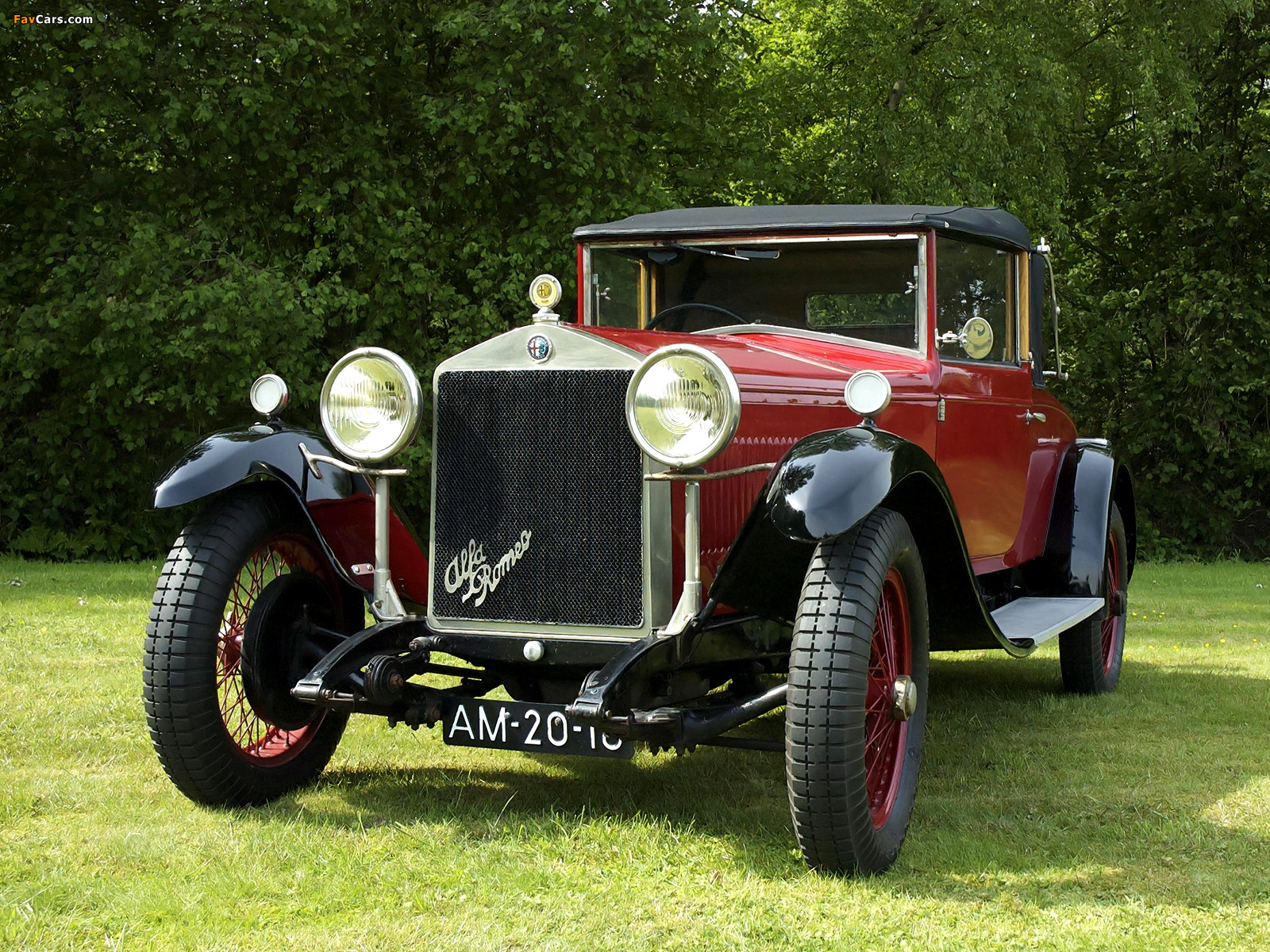 Photos of Alfa Romeo 6C 1500 Drophead Coupe by James Young (1928) (1600