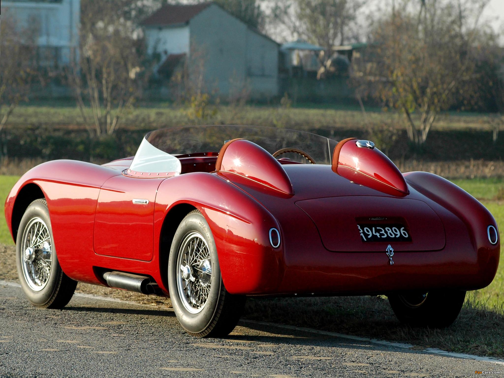 Photos of Alfa Romeo 6C 3000 Spider 1361 (1952) (2048 x 1536)