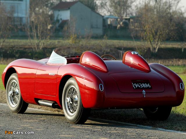 Photos of Alfa Romeo 6C 3000 Spider 1361 (1952) (640 x 480)