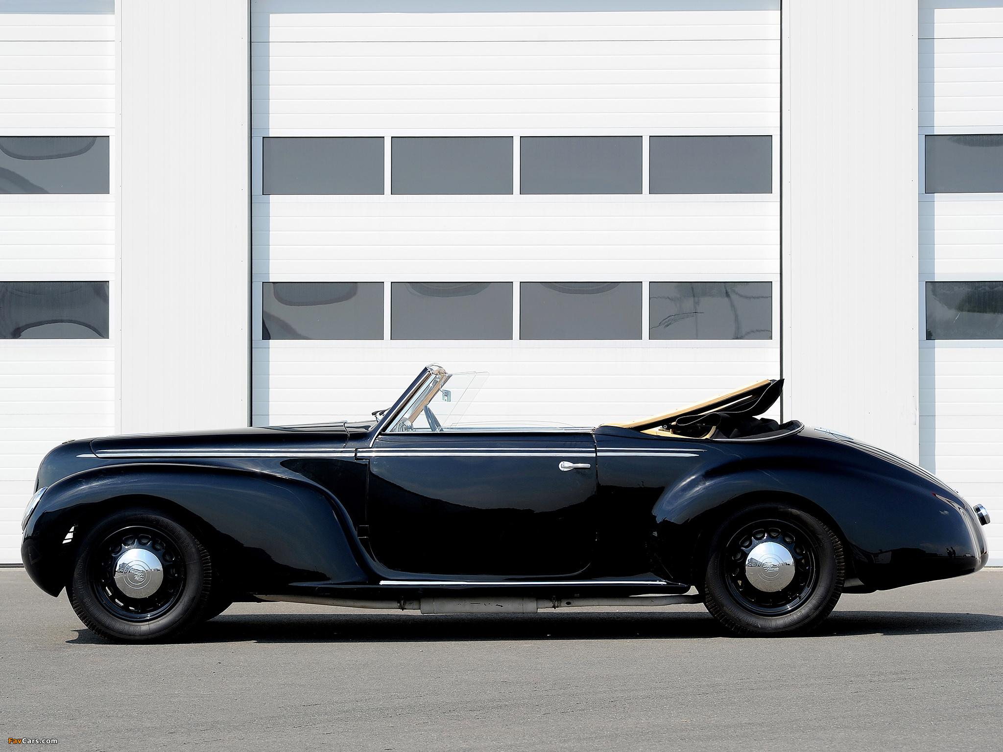 Pictures of Alfa Romeo 6C 2500 S Cabriolet (1939) (2048 x 1536)