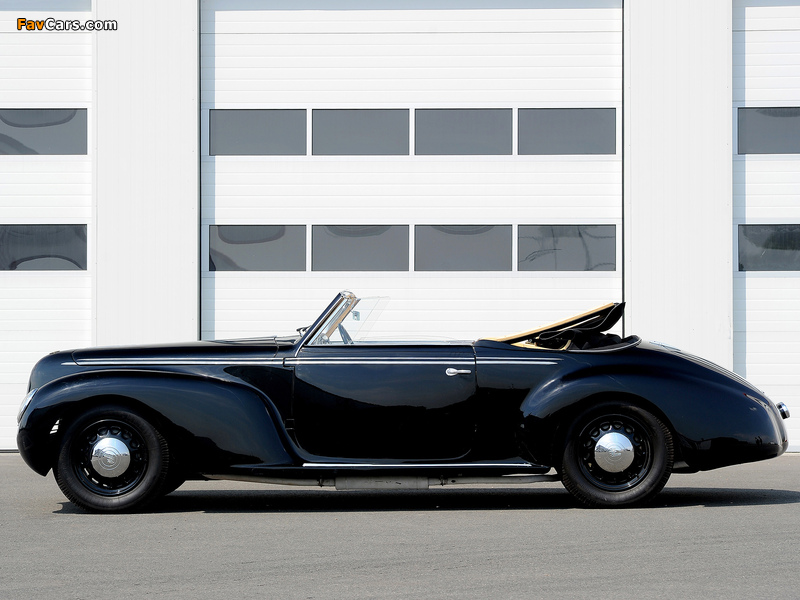 Pictures of Alfa Romeo 6C 2500 S Cabriolet (1939) (800 x 600)