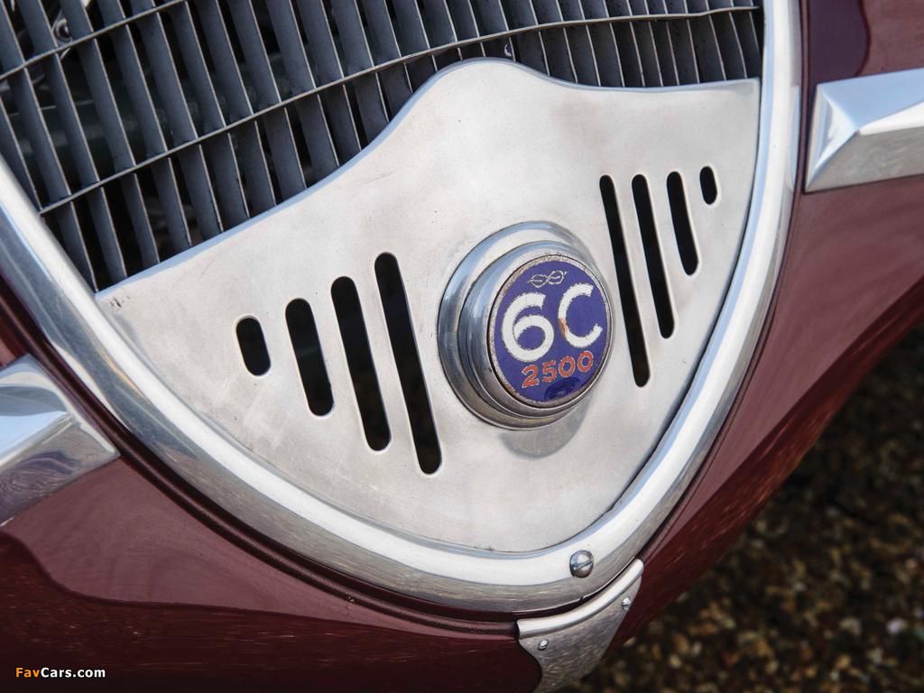 Pictures of Alfa Romeo 6C 2500 S Berlinetta 1939 (1024 x 768)