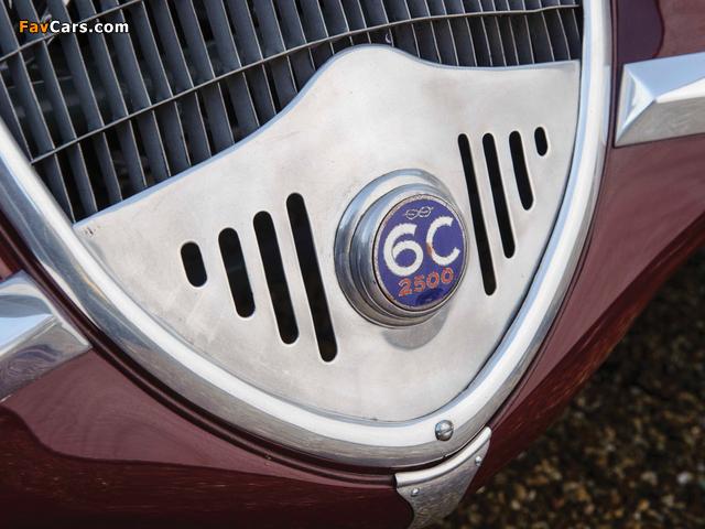 Pictures of Alfa Romeo 6C 2500 S Berlinetta 1939 (640 x 480)