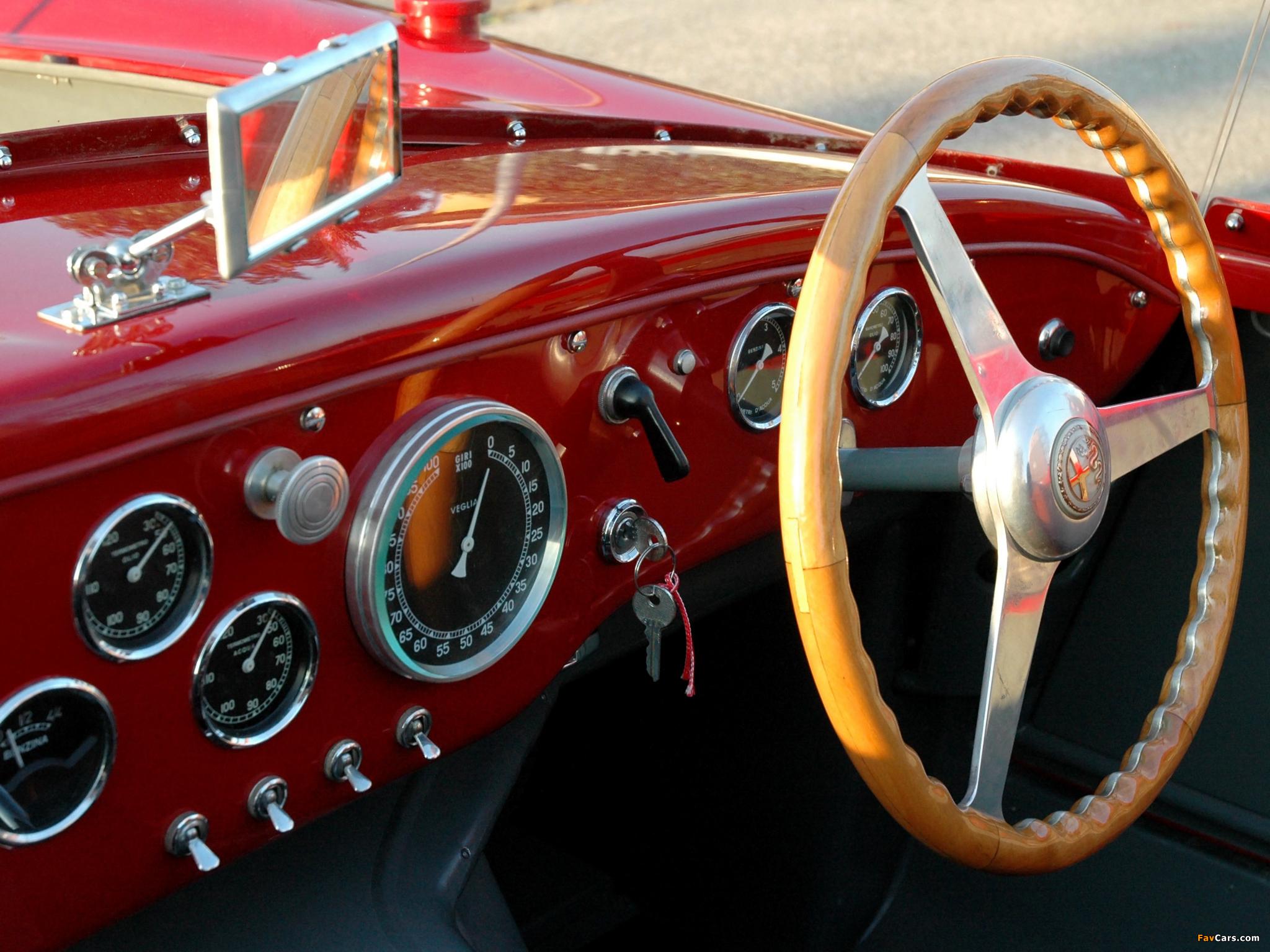 Pictures of Alfa Romeo 6C 3000 Spider 1361 (1952) (2048 x 1536)