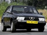 Alfa Romeo 75 V6 3.0 Quadrifoglio Verde 162B (1988–1992) wallpapers