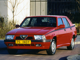 Alfa Romeo 75 1.8 i.e. Indy 162B (1991) photos