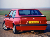 Pictures of Alfa Romeo 75 1.8 i.e. Indy 162B (1991)