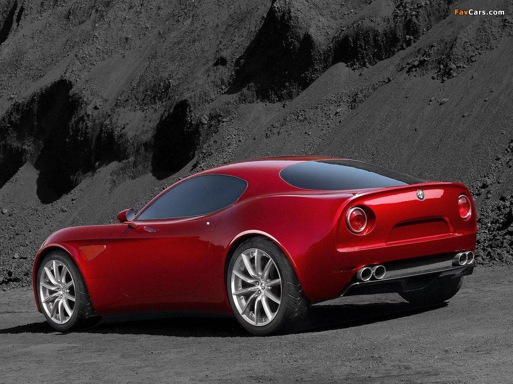 Alfa Romeo 8C Competizione Concept (2003) pictures (1024 x 768)