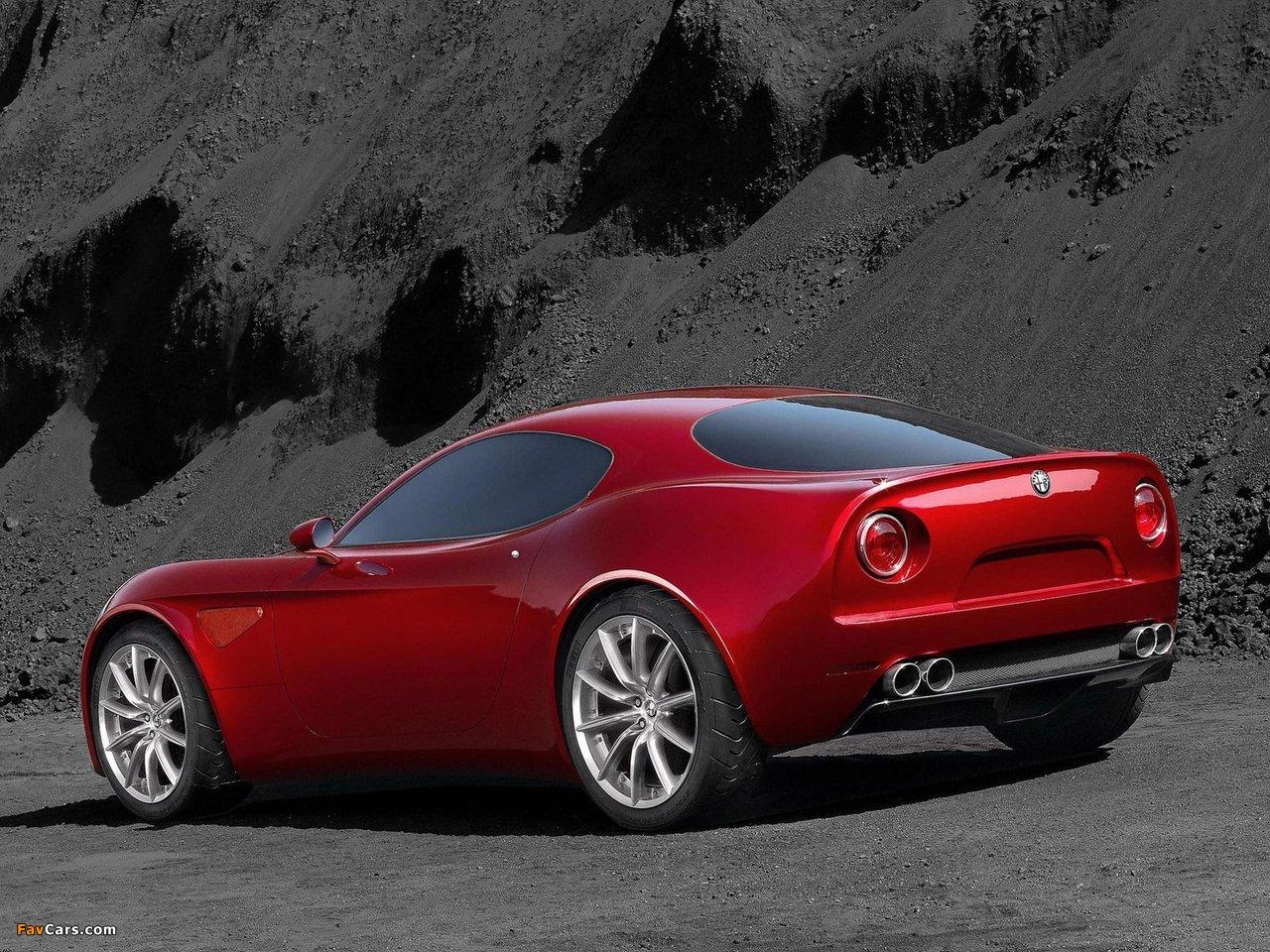 Alfa Romeo 8C Competizione Concept (2003) pictures (1280 x 960)