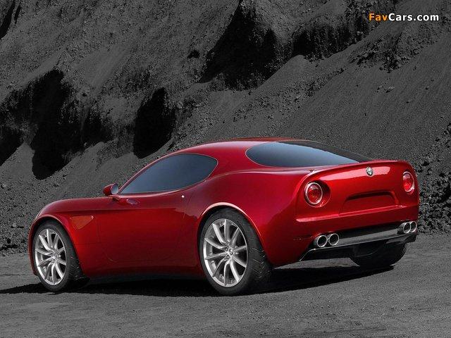 Alfa Romeo 8C Competizione Concept (2003) pictures (640 x 480)