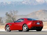 Alfa Romeo 8C Competizione US-spec (2008) images