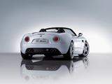 Alfa Romeo 8C Spider 2008–2011 photos