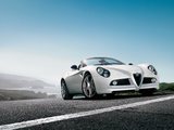 Alfa Romeo 8C Spider 2008–2011 wallpapers