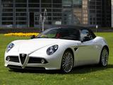 Alfa Romeo 8C Spider (2008–2011) images