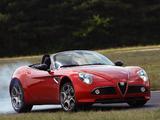 Alfa Romeo 8C Spider (2008–2011) pictures