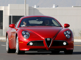 Photos of Alfa Romeo 8C Competizione US-spec (2008)