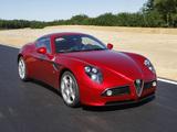 Photos of Alfa Romeo 8C Competizione (2007–2008)