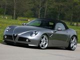 Pictures of Novitec Alfa Romeo 8C Spider (2011)
