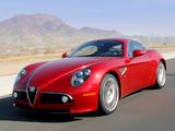 Pictures of Alfa Romeo 8C Competizione US-spec (2008)