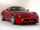 Alfa Romeo 8C Competizione (2007–2008) wallpapers