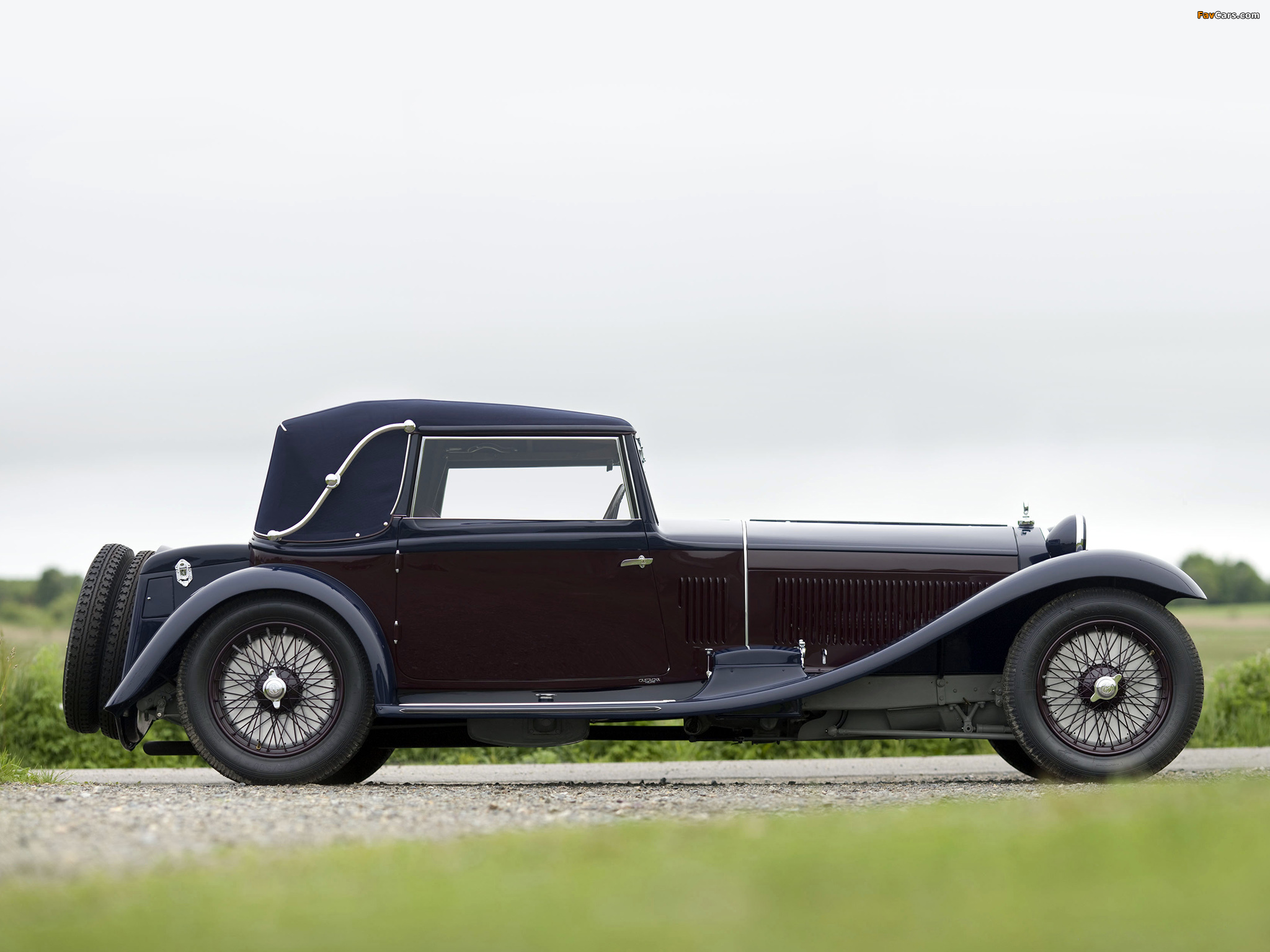 Alfa Romeo 8C 2300 Drophead Coupe by Castagna (1933) wallpapers (2048 x 1536)