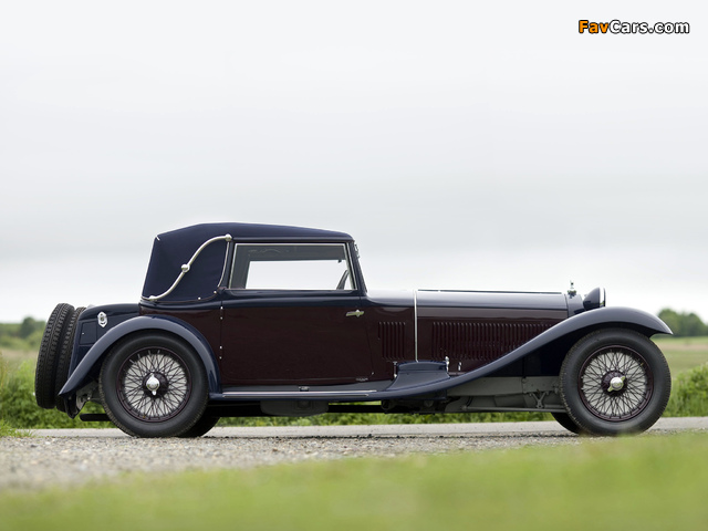Alfa Romeo 8C 2300 Drophead Coupe by Castagna (1933) wallpapers (640 x 480)