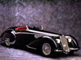Alfa Romeo 8C 2900B Spider (1938) wallpapers