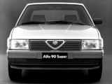 Photos of Alfa Romeo 90 Super 162A (1986–1987)
