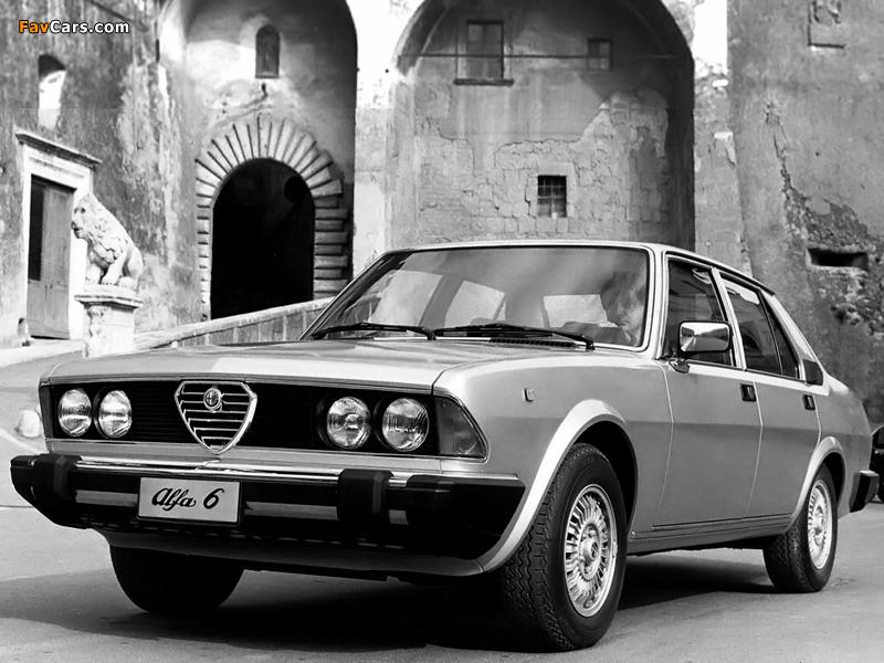 Alfa Romeo Alfa 6 119 (1979–1983) pictures (800 x 600)