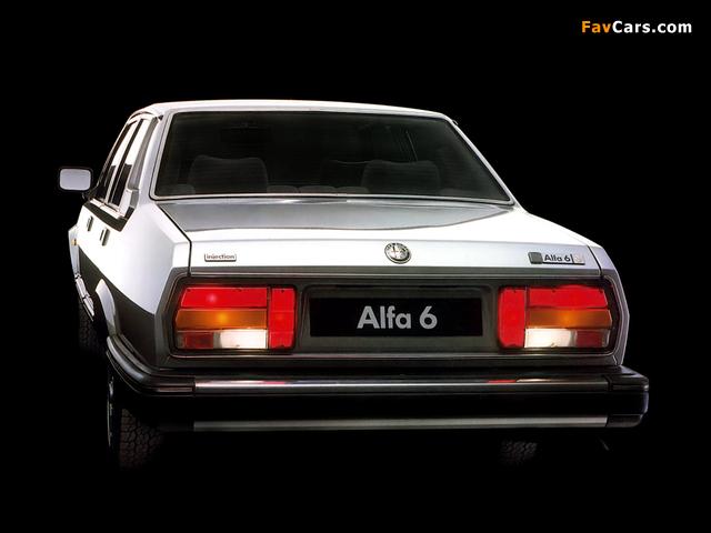 Alfa Romeo Alfa 6 119 (1983–1987) wallpapers (640 x 480)