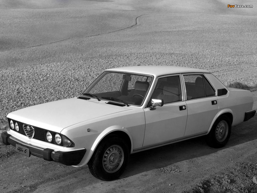 Photos of Alfa Romeo Alfa 6 119 (1979–1983) (1024 x 768)