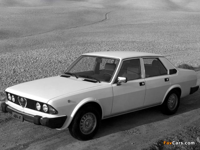 Photos of Alfa Romeo Alfa 6 119 (1979–1983) (640 x 480)