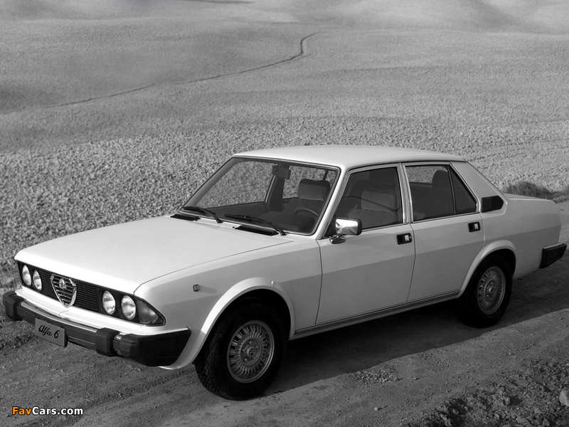 Photos of Alfa Romeo Alfa 6 119 (1979–1983) (800 x 600)