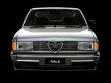 Photos of Alfa Romeo Alfa 6 119 (1983–1987)