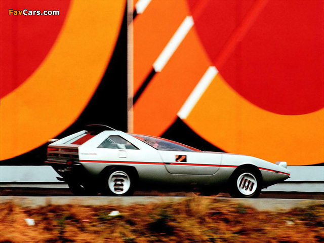 Alfa Romeo Alfasud Caimano Concept 901 (1971) photos (640 x 480)