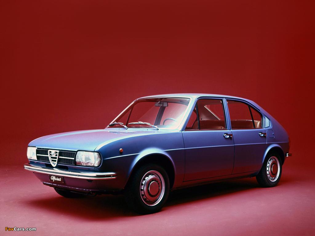 Alfa Romeo Alfasud 901 (1972–1977) photos (1024 x 768)