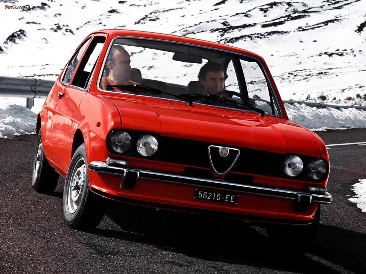 Alfa Romeo Alfasud ti 901 (1973–1978) pictures (1280 x 960)