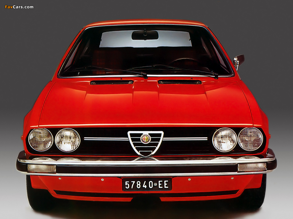Alfa Romeo Alfasud Sprint 902 (1976–1978) images (1024 x 768)