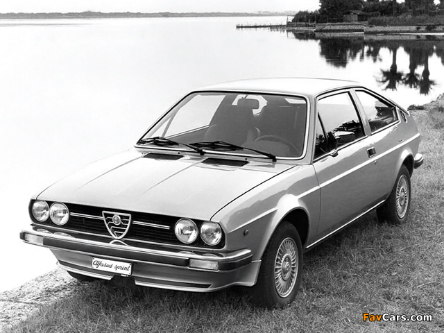 Alfa Romeo Alfasud Sprint 902 (1976–1978) pictures (640 x 480)