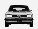 Alfa Romeo Alfasud Super 901 (1977–1980) pictures